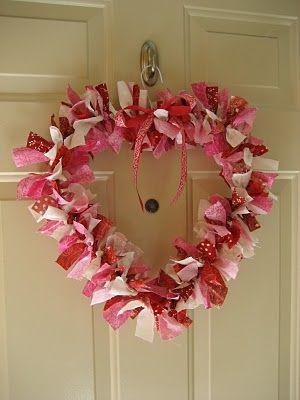 Cute Valentine Wreath!