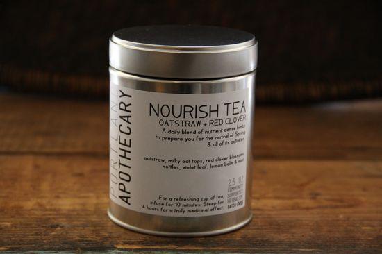 Nourish Tea from Portland Apothecary