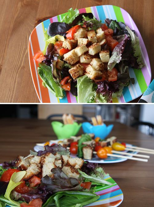 Grilled Cheese Croutons!