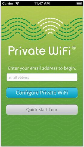 The app that gives you bank-level encryption on public Wifi networks. If you travel (or work in Starbucks) you need this!
