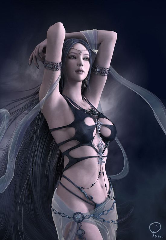 25 Incredible 3D Fantasy Art works and Game Character designs