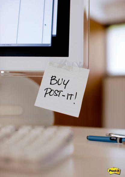 Buy Post-it  Advertising Agency: Publicis, Brussels, Belgium.