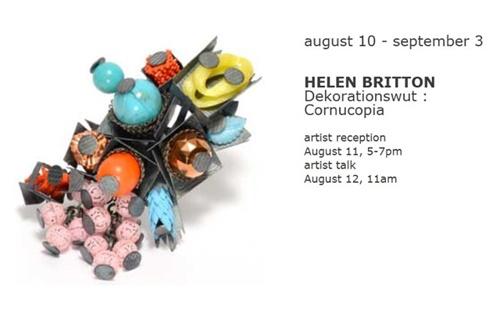 """HELEN BRITTON - """"Cornucopia"""" at Sienna Gallery"""