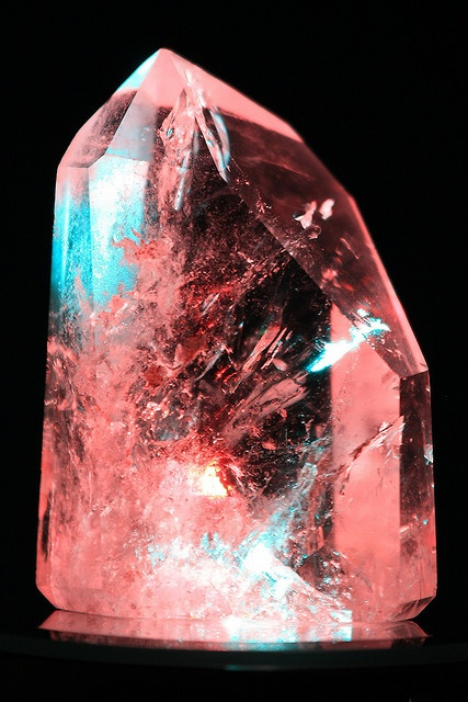 Crystal light art by Mike and Patti Young