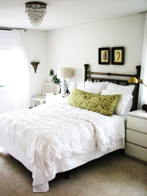Our white bedroom