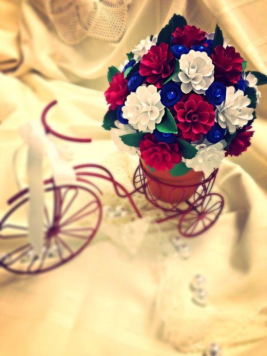 Handmade Paper Flowers by mkallasides on Etsy