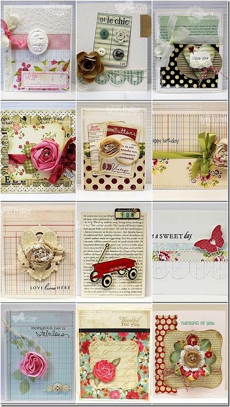 handmade cards galore!