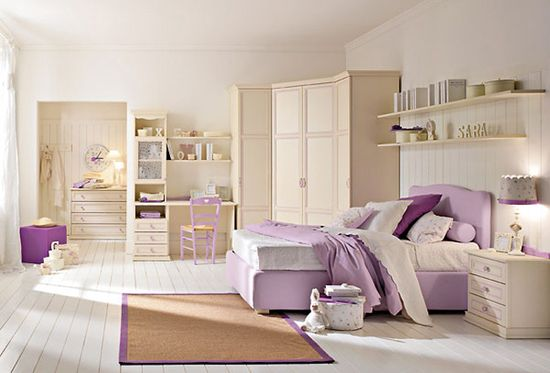 Contemporary children bedroom decoration