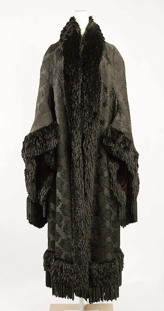 Emile Pingat silk cloak 1879-80