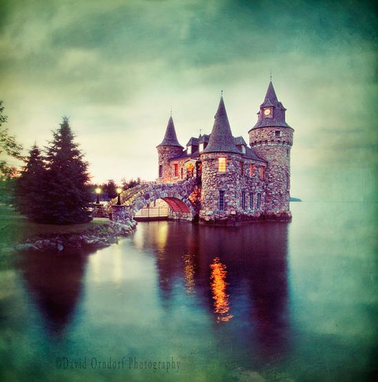 A castle like this.....