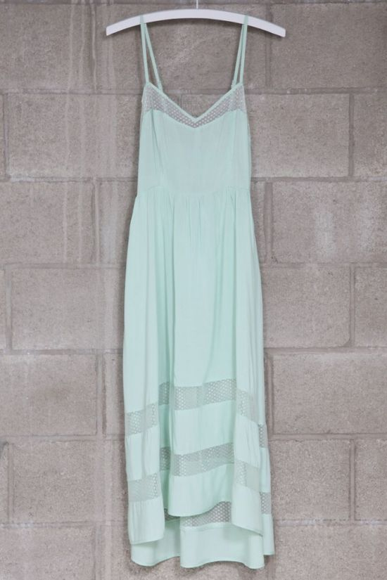 Mint maxi - summer time cool