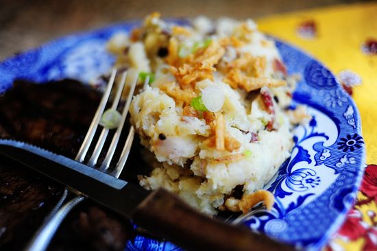 Restaurant Smashed Potatoes by Ree Drummond / The Pioneer Woman, via Flickr