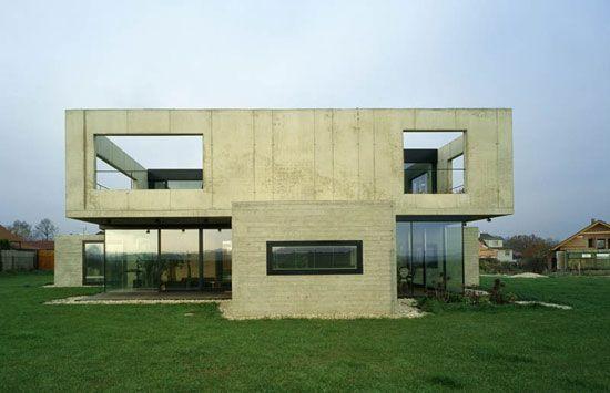awesome contemporary concrete modern home design plans