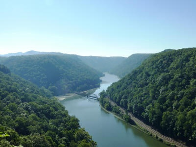 CHARLESTON, WV: Midland Trail (Scenic Highway 60). Drive the 119-mile highway accross South Central West virginia for an unbelievable view.