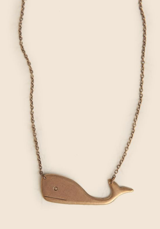 Wally The Whale Indie Necklace at #Ruche @Ruche