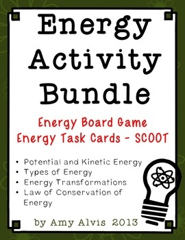 This listing is for those of you that have already purchased my ENERGY POSTER SET You SAVE $ buying this bundle over purchasing them separately.