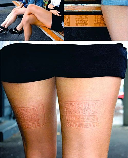 Creative way to Advertise.