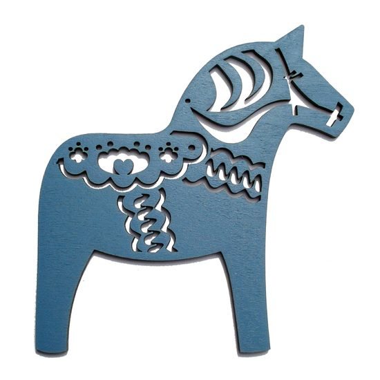 Dala Horse Christmas Decorations » Pretty Dandy