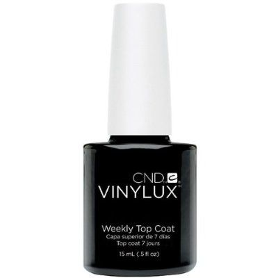 Creative Nail Creative Nail Design Vinylux Nail Lacquer, Weekly Top Coat, 0.5 Fluid Ounce:Amazon:Beauty
