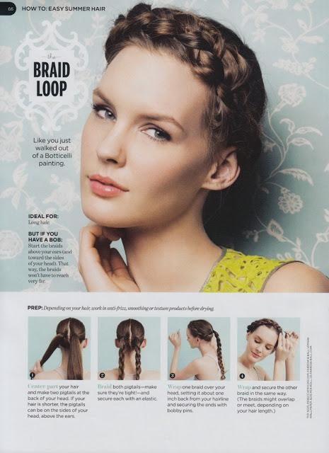 Braid Loop Hair Tutorial