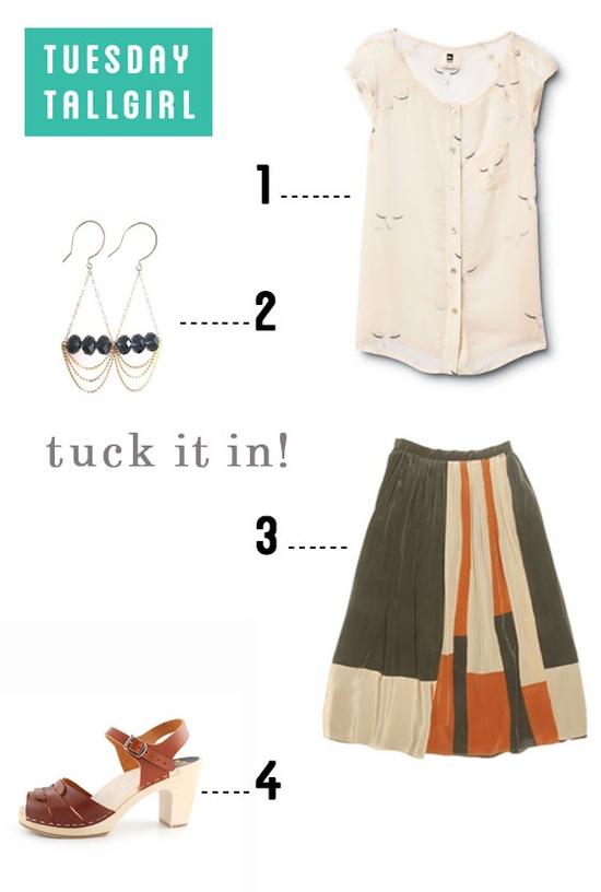 Tall fashion for summer