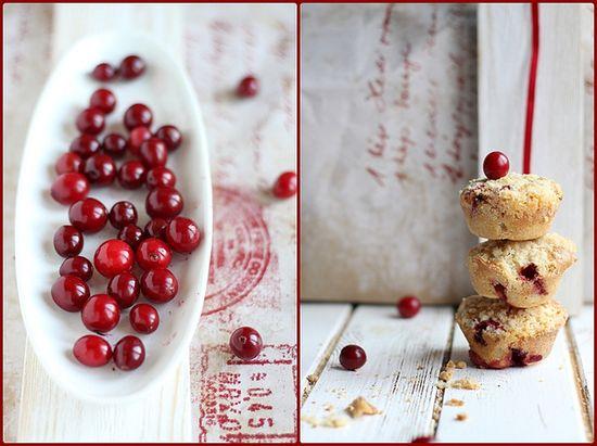 Cranberry Muffins by Kinga B?aszczyk-Wójcicka