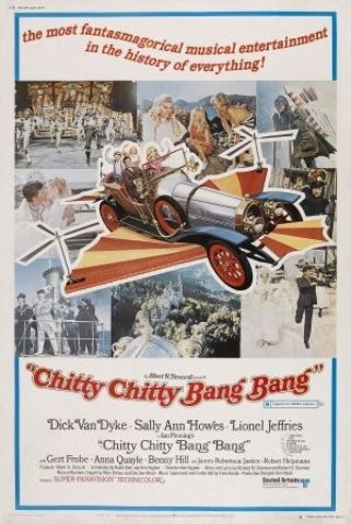 Most-valuable movie memorabilia   9. The flying car from 'Chitty Chitty Bang Bang'