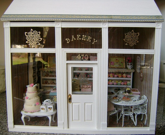adorable miniature bakery
