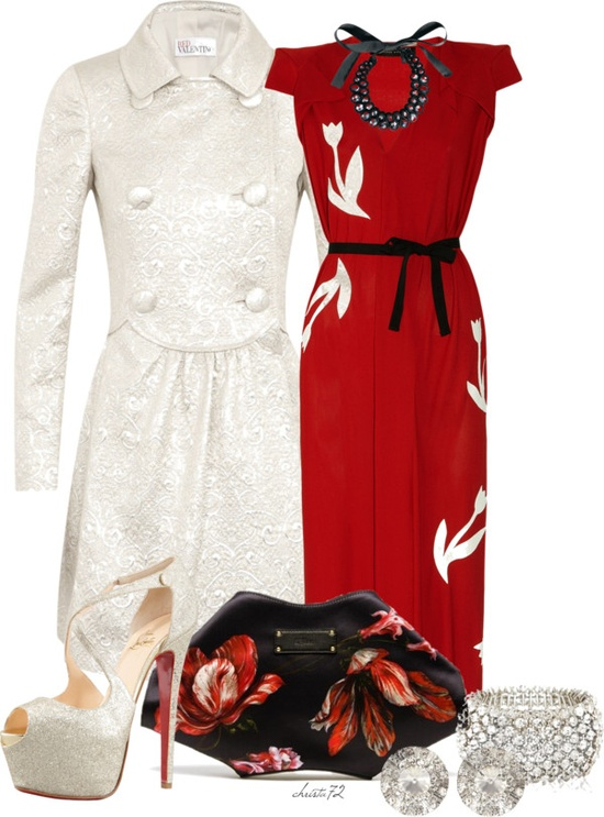 """Red and White"" by christa72 on Polyvore"