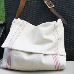 DIY messenger bag, plus other craft tutorials and recipes