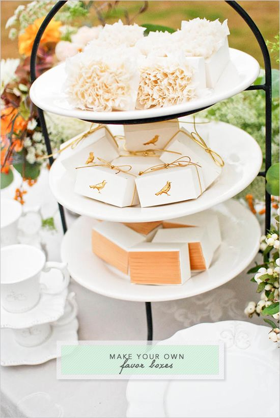 make your own wedding favor boxes