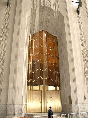 1 Wall Street, New York art deco gold