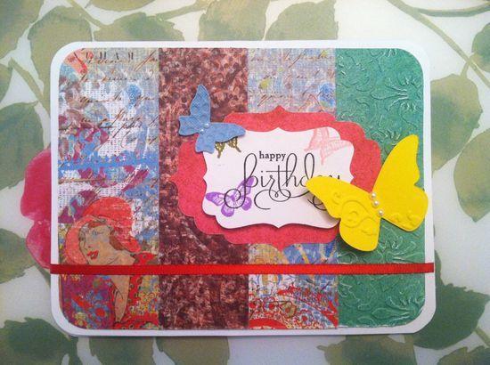 My handmade birthday #smang it #handmade journals #handmade charms