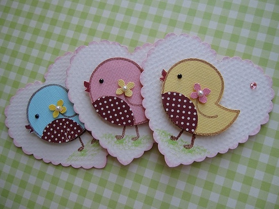 Sweet n Cute Bird Embellishments