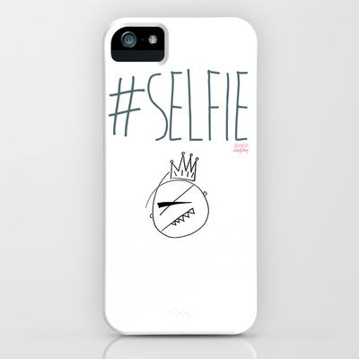 The #SELFIE King iPhone & iPod Case by @Gregory Littley - $35.00 #iPhone #DIY