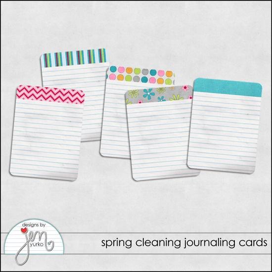 Free journal cards, printable