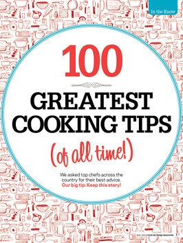 100 Greatest Cooking Tips of All Time