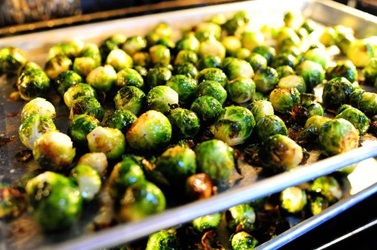 Brussels Sprouts with Balsamic & Cranberries