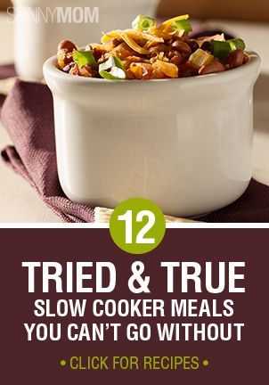 Check out these awesome recipes when using your slow cooker!