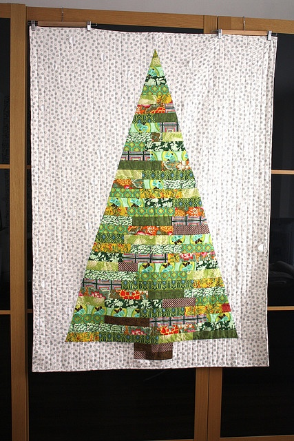 christmas tree quilt.
