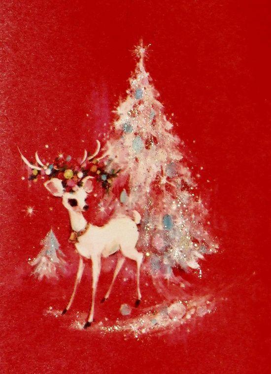 Reindeer and Christmas Tree...