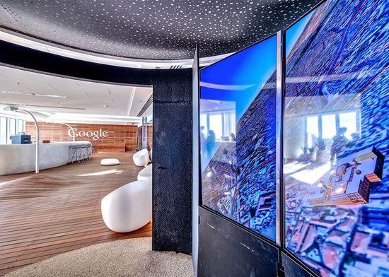 Google'sTel Aviv Office Headquarters Modern Interior Design