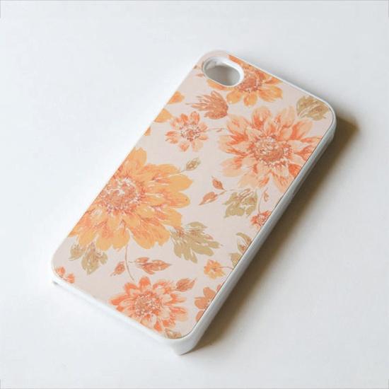 iPhone 4s case  Floral iphone case  vintage floral  by IdeaCase, $16.00