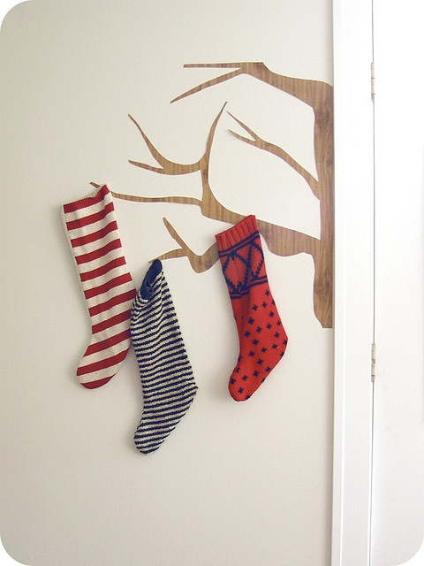 stockings with no mantel
