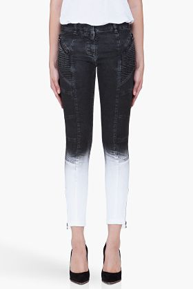 PIERRE BALMAIN Slim Dipped Shadow Jeans