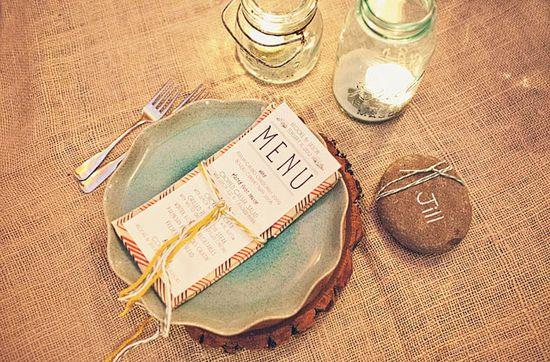 milk glass: Woodsy Wedding