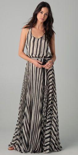 maxi + stripes