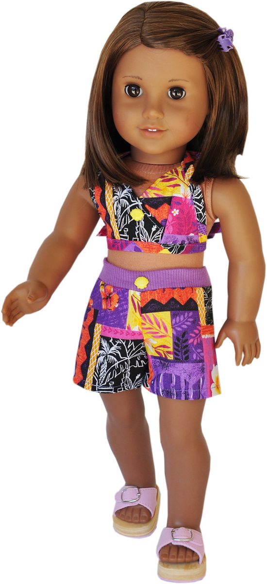 American Girl Clothes  Multicolored Halter by LoriLizGirlsandDolls, $18.00