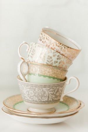 I love tea cups!