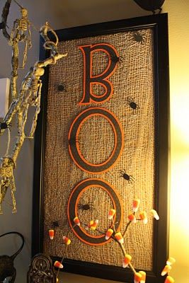 Burlap and Boo!